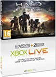 Xbox LIVE Gold 12+2 Month Membership Card - Halo Reach Branded (Xbox 360)