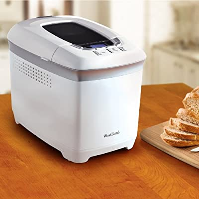 West Bend 41410 Hi-Rise Loaf Programmable Breadmaker, 2.5-Pound by FOCG7
