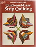 Quick-And-Easy Strip Quilting (Dover Needlework Series)