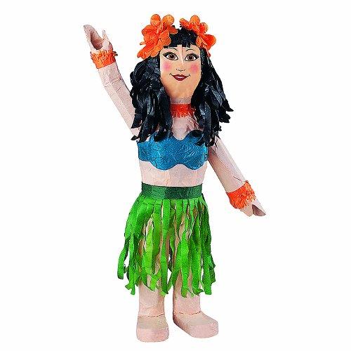 """Hula Girl Pinata, 22"""" X 9.5"""" front-1034819"""