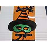 Womens Adult Instant Witch Costume Kit