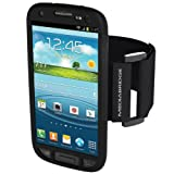 Mediabridge Sport Armband for Samsung Galaxy S3 - Includes Front Screen Protector (Black)
