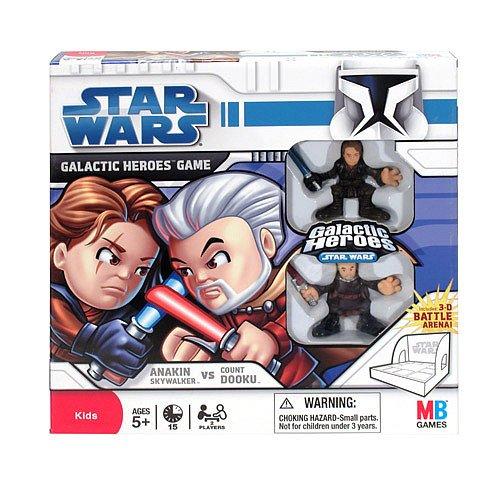 Star Wars Galactic Heroes Game Anakin Skywalker vs Count Dooku