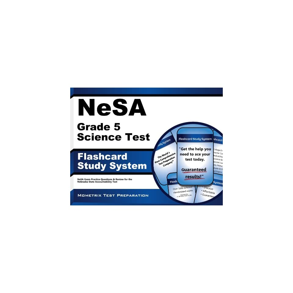 NeSA Grade 5 Science Test Flashcard Study System NeSA Exam Practice