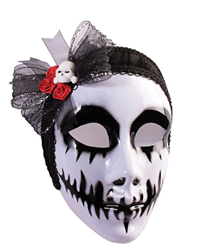 Day of the Dead Phantom Bride Mask
