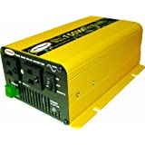 Go Power! GP-SW150-12 150-Watt Pure Sine Wave Inverter (Color: Yellow, Tamaño: 150 Watt)