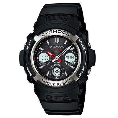 Casio Men's Awr-m100-1a G-shock Analog Digital Black Tough Solar Men Sports Watch