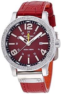 Angel Clover Limited Model Watch Men's Red Collection Exventure EVG46SRE-LIMITED
