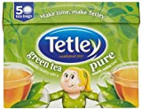 Tetley Pure Green Tea 50 Teabags 100 g (Pack of 6)