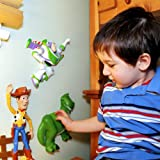 Wallables 3D Wall Décor - Rex the dinosaur from Disney / Pixar Toy Story 1, 2 and academy award winning Toy Story 3, 3-Dimensional Soft Foam Toy Wall Décor, Now with Bonus repositional decals!