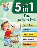 5 in 1 Fun Activity Book (Shooting Stars)