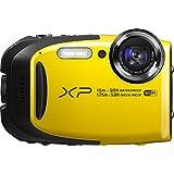 Fujifilm FinePix XP80 Waterproof Digital Camera with 2.7-Inch LCD (Yellow)