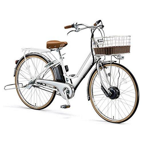 ブリヂストン(BRIDGESTONE) カジュナ(cajuna) e ベーシックライン CB6B37 E.Xバニラホワイト 電動自転車