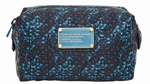 Marc By Marc Jacobs Marc Jacobs Pretty Nylon Small Cosmetic Bag in Indigo Multi