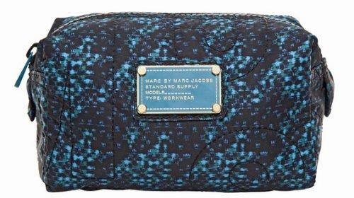 Marc By Marc JacobsMarc Jacobs Pretty Nylon Small Cosmetic Bag in Indigo Multi