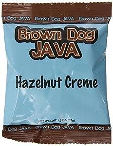 Brown Dog Java Hazelnut Crème, 1.3-Ounce, Pack of 24