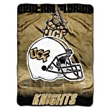 "NCAA Central Florida Knights 60-Inch-by-80-Inch Micro Raschel Blanket, ""Overtime"" Design"