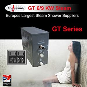 Steam Shower Cabin Cubicle Enclosure Room 9KW Commercial Steam Generator Kit       Customer review