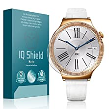 buy Iq Shield® Matte [6-Pack] - Huawei Watch Elegant Anti-Glare Screen Protector With Lifetime Warranty Replacements - Premium Bubble-Free Hd Film With Anti-Fingerprint Coating