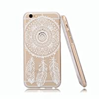 For Iphone 6 case, Let it be Free Henna Full Mandala Floral Dream Catcher Plastic Case Cover for Iphone 6 4.7 Inch Screen (Not for Iphone 6 Plus) from Let it be Free