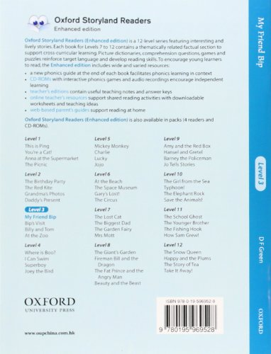 Oxford Storyland Readers level 3: My Friend Bip