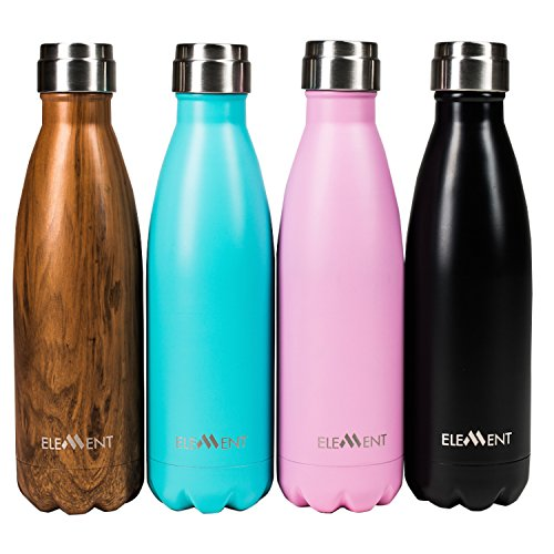 Stainless Steel Water Bottle - Insulated - Gorgeous Gift Box Included - Hot 24