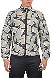 Armani Jeans Multi-Color Full Zip Men's Windbreaker Jacket