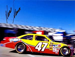 Buy 2009 Marcos Ambrose #47 Clorox 8X10 Pic SIGNED by Trackside Autographs