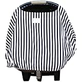 Loved Littles Protective 4-in-1 Baby Car Seat Cover, Nursing Cover, Shopping Cart Cover, High Chair Cover