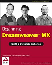Beginning DreamweaverMX by Charles E. Brown