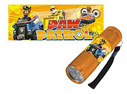 Paw Patrol torcia a LED Bambino arancione