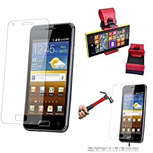 Qualitas Pack of 7 Tempered Glass for Asus Zenfone 6 + Car Steering Holder