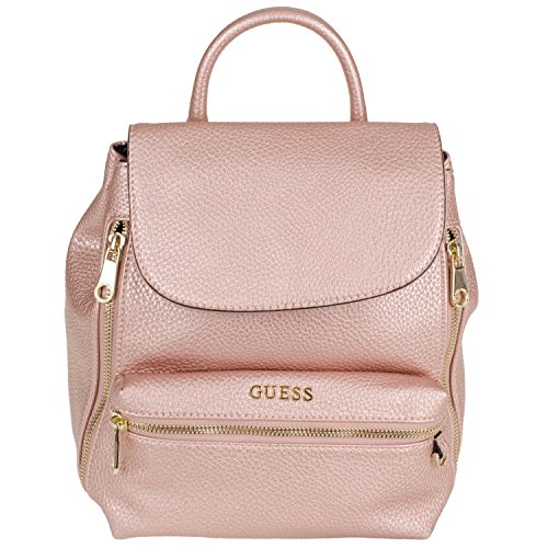 guess-alanis-small-backpack-rose-metal