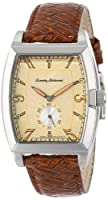 Tommy Bahama Swiss Men's TB1196 Silver Palms Barrel Sub Second Woven Brown Watch from Tommy Bahama Swiss