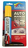 LARGE YELLOW AUTO MARKER - REMOVABLE PAINT FOR AUTO BODY PANELS AND WINDSCREENS