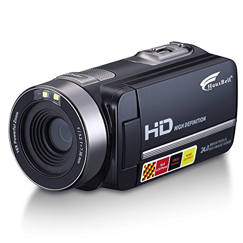 "Review Of Hausbell HDBV-301 Full HD Digital Video Camera Camcorder 1920 X 1080P with 3.0"" TFT L..."