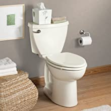 American Standard Cadet-3 Right Height Elongated Two-Piece Toilet with 12-Inch Rough-In