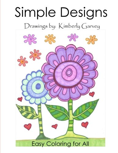 Download Simple Designs: A Laid Back Coloring Book