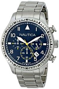 Nautica Men's N18713G Analog Display Quartz Silver Watch