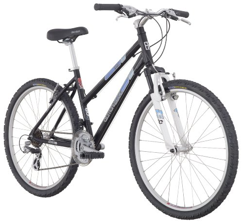 Diamondback women 2012 lustre two mountain bike black for Lustre double suspension