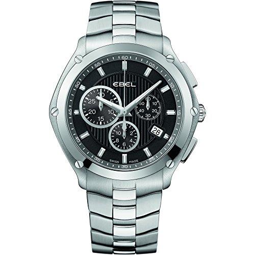 Ebel 1216042 - Reloj de pulsera hombre, acero inoxidable