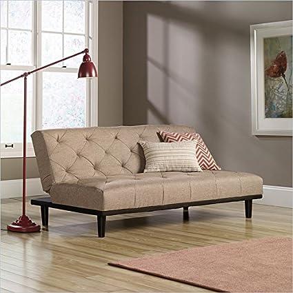 Studio RTA Premier Mason County Convertible Sofa in Camel