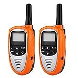 Floureon® Par T-328 Walkie Talkies 8 Canales UHF400-470MHZ 2-Vías Radio 3KM Rango Intercom