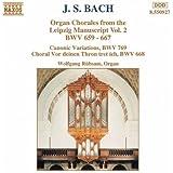 J.S. Bach: Orgelchoräle BWV 659-668, 769