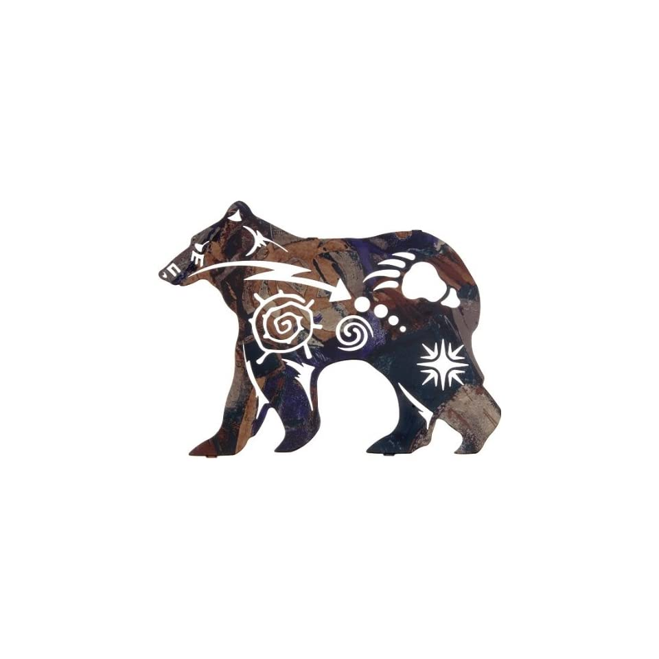 12 Lazart Metal Wall Art Wall Decor   New Spirit Bear