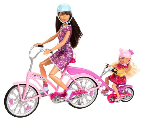 Barbie Sisters Bike For Two Playset front-985515