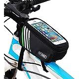 Rrimin Bike Front Bag Bicycle Front Basket Tube Pannier Frame Cycling Handlebar Bag