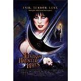 Elvira's Haunted Hills Mini Movie Poster (Autographed)