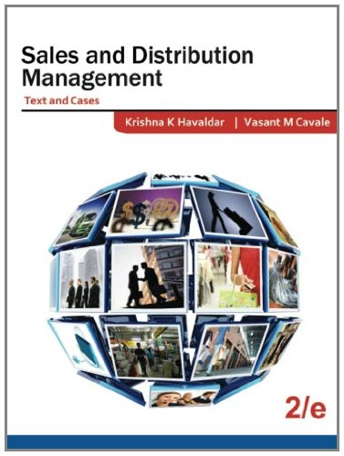 Sales And Distribution Management (Text And Cases): 2E