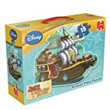 Jake and The Never Land Pirates Shaped Floor Jigsaw Puzzle (15 Pieces)